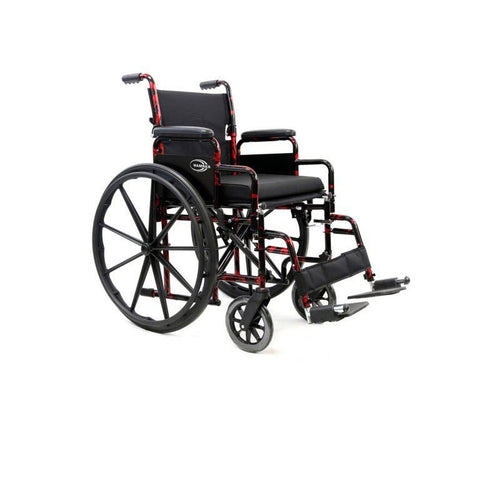 Karman Healthcare : Red Streak Lightweight Wheelchair  – LT-770Q main image