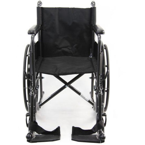 Karman Healthcare : Portable Lightweight Wheelchair  – LT-800T front view