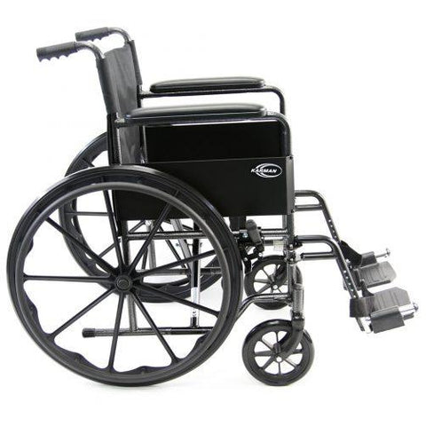 Karman Healthcare : Portable Lightweight Wheelchair  – LT-800T side view