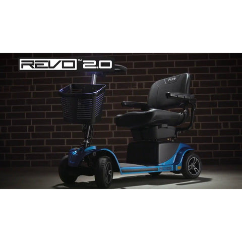 Pride Mobility: Revo 2.0 4-Wheel - Mobility Scooters Store