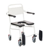 Image of Handicare: Mobile Commode/Shower Chair (Caregiver Operated - Closed Front) - LI2137.0111-02