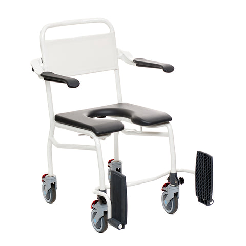 Handicare: Mobile Commode/Shower Chair (Caregiver Operated - Open Front) - LI2137.0211-02