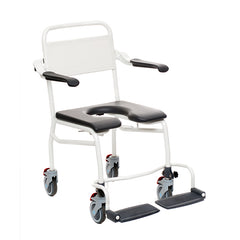 "Handicare: Mobile Commode/Shower Chair 20.9"" (Caregiver Operated - Open Front) - LI2137.1211-02"