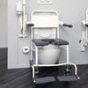 "Image of Handicare: Mobile Commode/Shower Chair 24"" (User Operated - Open Front) - LI2138.0211-02"