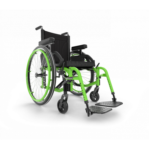 Motion Composites: Folding Wheelchairs Move - Acid Green