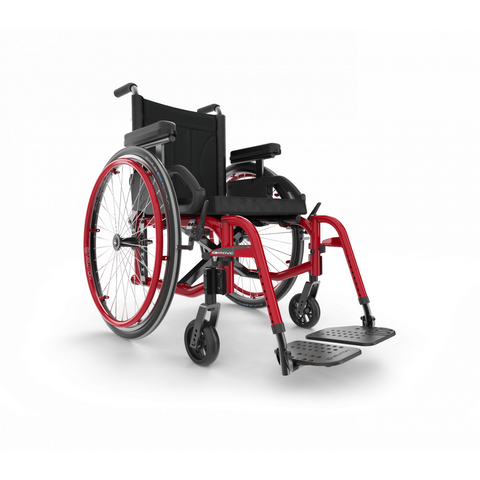 Motion Composites: Folding Wheelchairs Move - Burgundy