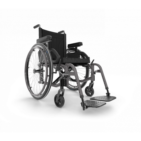 Motion Composites: Folding Wheelchairs Move - Charcoal