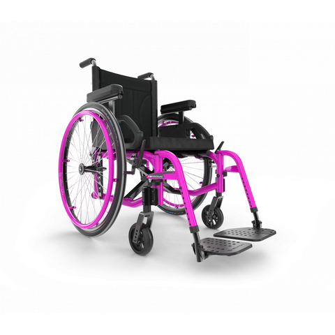 Motion Composites: Folding Wheelchairs Move - Fuchsia Color