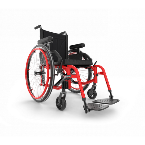 Motion Composites: Folding Wheelchairs Move - Ferrari Red