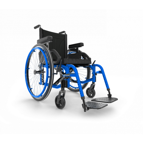 Motion Composites: Folding Wheelchairs Move - Sapphire Blue