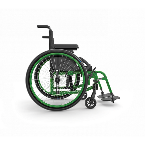 Motion Composites: Folding Wheelchairs Move - Monster Green Color
