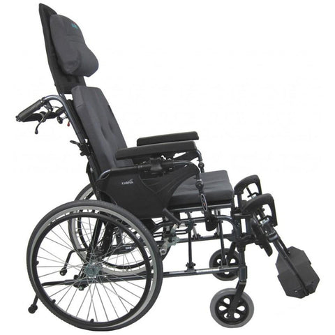Karman Healthcare: Reclining Tilt-Wheelchairs – MVP502-MS side view