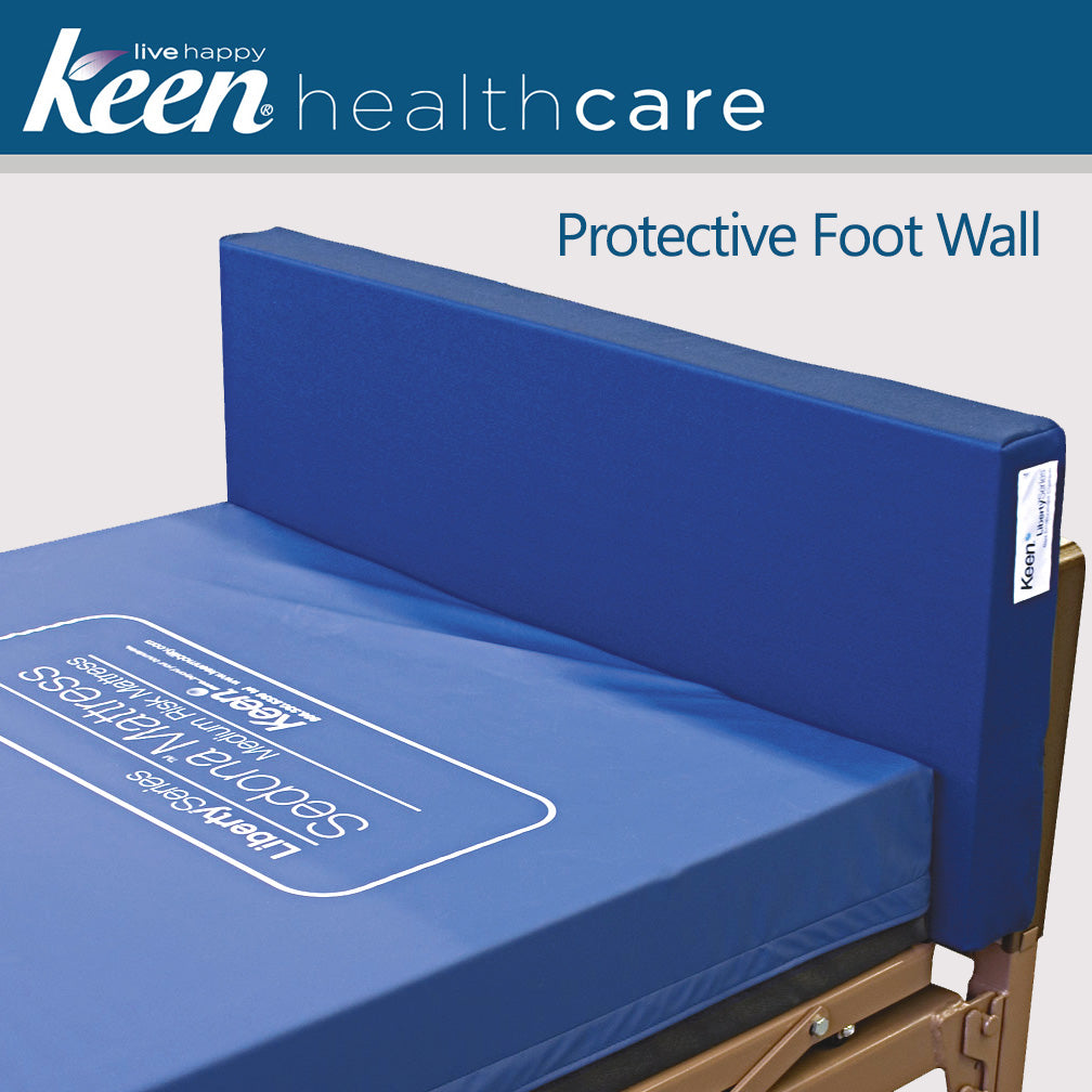 Keen Healthcare: Keen® Liberty™ Protective Foot Bed Wall 42″ - LBFC-42x21x4 - Actual Image