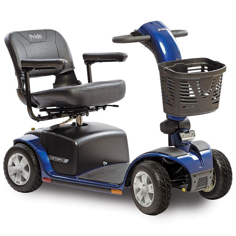 Pride Victory 10 4-Wheel Scooter-Pride Mobility-Scooters 'N Chairs