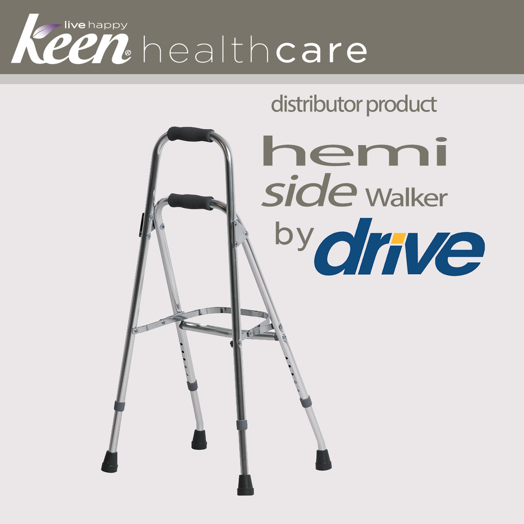 Keen Healthcare: Hemi Side Walker 30″ – 35″ grip to floor - EFFMA13060600 - Actual Image