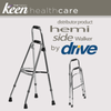 Keen Healthcare: Hemi Side Walker 30″ – 35″ grip to floor - EFFMA13060600 - Folding View