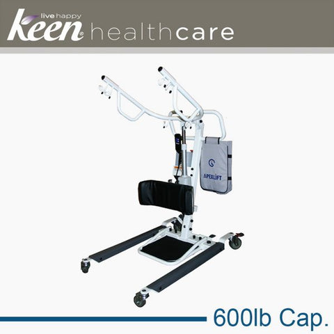 Keen Healthcare: Gf Lumex™ Bariatric Sit-to-Stand Electric Lift, 600lb Cap - EFFGFLF2090 - Side View