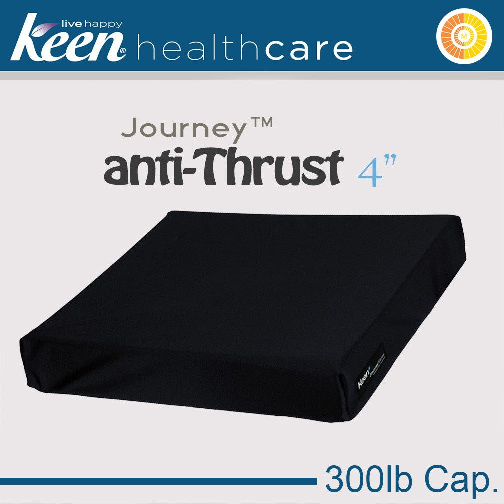 Keen Healthcare: Keen® Journey™ Anti-Thrust Cushion 4″ | Model – ST4 - Actual Image