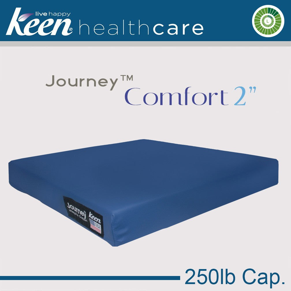 Keen Healthcare: Keen® Journey™ 2″ Comfort Cushion - S2-16x16EZ without Anchors - Actual Image