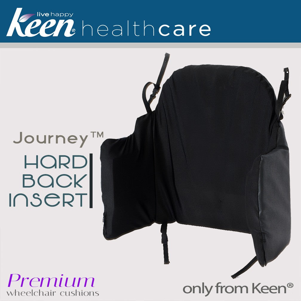 Keen Healthcare: Keen® Journey™ Wheelchair Hard Back Insert - WBH-18x18 - Actual Image