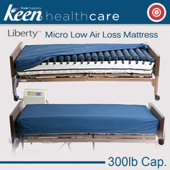 keen Healthcare: Keen® Liberty™ Micro Low Air Loss Mattress - EFFANMICRO-35x80-BOL