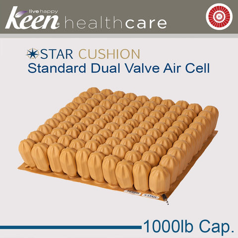 Keen Healthcare: Star 4″ Bariatric Contour Air Cushion - 22162