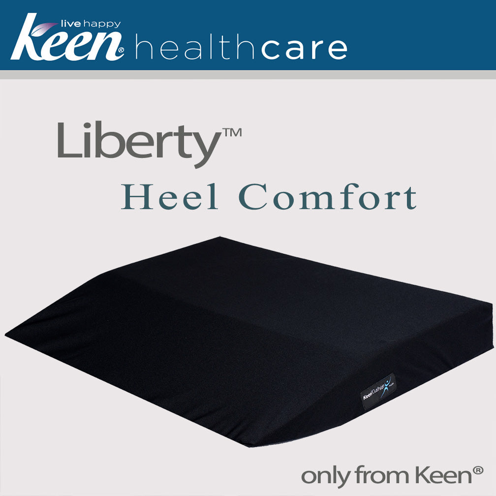 Keen Healthcare: Liberty™ Heel Comfort 5″ Cushion, 30″ wide x 24″ deep - H5-30x24 - Actual Image