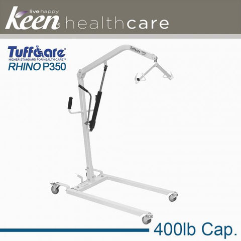 Keen Healthcare: Tuffcare® Hydraulic Rhino Patient Lift - EFFTCP350 - Side View