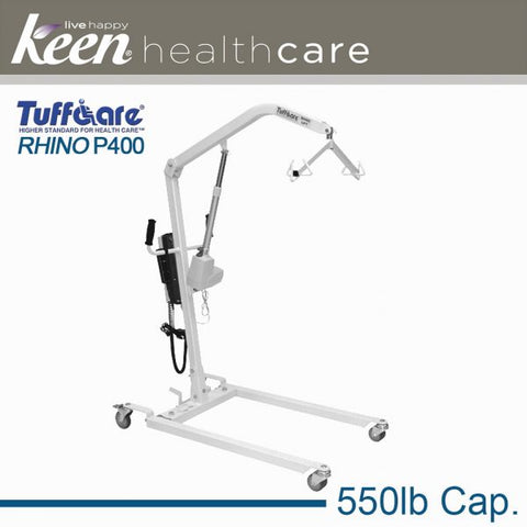 Keen Healthcare: Tuffcare® Electric Rhino Patient Lift - EFFTCP400 - Side View