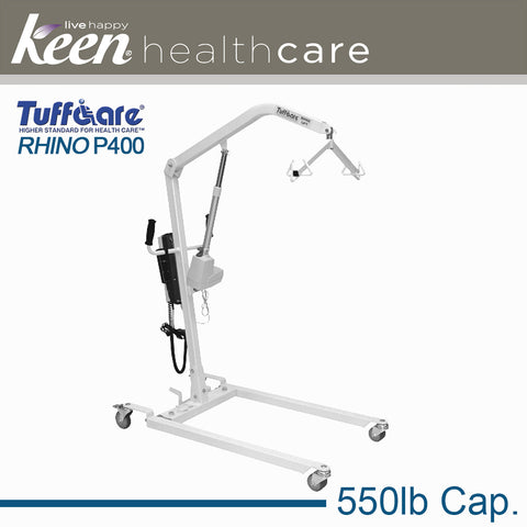Keen Healthcare: Tuffcare® Electric Rhino Patient Lift - EFFTCP400 - Actual Image
