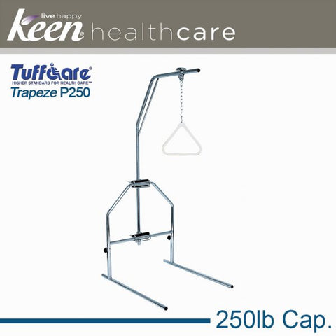 Keen Healthcare: Tuffcare® Trapeze Bar with Stand - EFFTCP250 - Side View