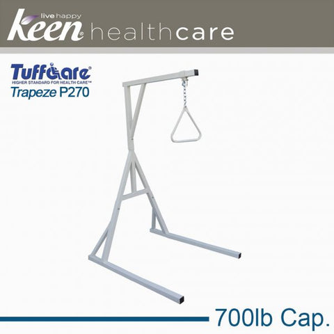 Keen Healthcare: Tuffcare® Bariatric Trapeze Bar with Stand - EFFTCP270 - Side View