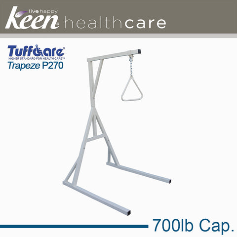 Keen Healthcare: Tuffcare® Bariatric Trapeze Bar with Stand - EFFTCP270 - Actual Image