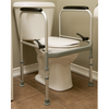 Image of Mobb Healthcare: Folding Toilet Safety Frame - MHFTSF - Actual Image