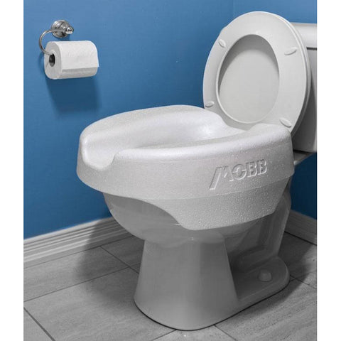 Mobb Healthcare: LooEase Light Weight Raised Toilet Seat - MHLOO - Actual Image