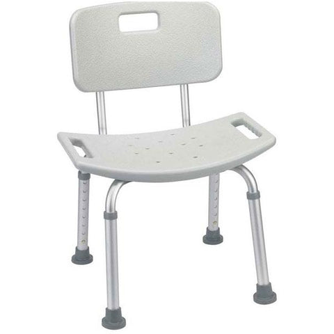 Mobb Healthcare: Bath Chair with Back Rest - MHBB - Actual Image