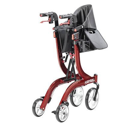 Mobb Healthcare: HurryRoll Rollator Rolling Walker By HurryCane - Folded View