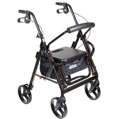 Mobb Healthcare: 4 Wheel Rollator Drive Duet Rollator/Transport Chair - DR795