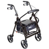 Image of Mobb Healthcare: 4 Wheel Rollator Drive Duet Rollator/Transport Chair - DR795