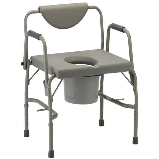 Mobb Healthcare: Heavy Duty Commode Chair - MHCMH - Actual Image