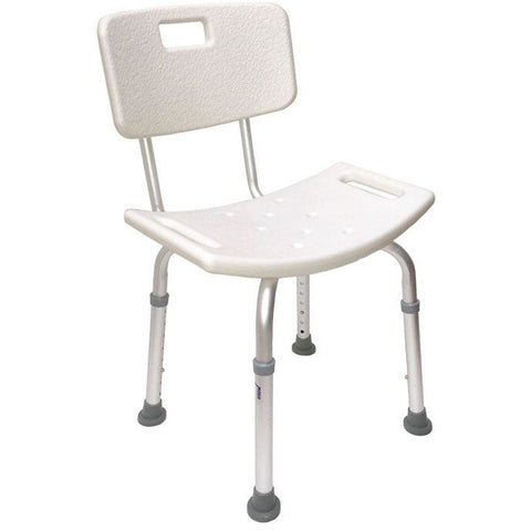 Mobb Healthcare: Bath Chair with Back Rest - MHBB - Side View