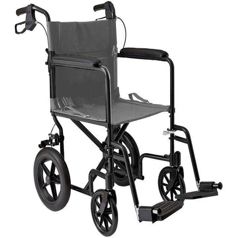 Mobb Healthcare: 12 inch Lightweight Transport Chair - MHTC12