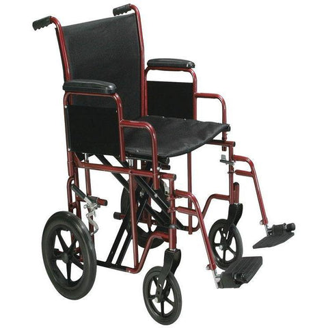 Mobb Healthcare: Heavy Duty Transport Chair 22 inch Wide - MHTC22