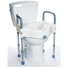 Mobb Healthcare: Raised Toilet Seat with Legs - MHRTSL - Actual Image