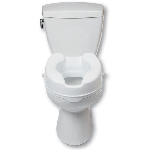 "Mobb Healthcare: 4"" Raised Toilet Seat - MHRTSD - Actual Image"