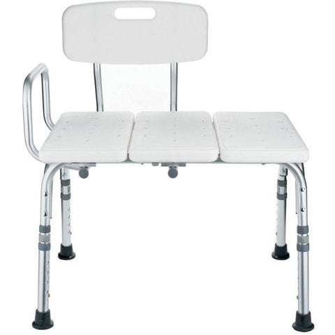 Mobb Healthcare: Transfer Bath Bench with Back - MHSB - Actual Image