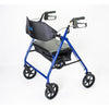 Image of Mobb Healthcare: Ultra Heavy Duty Bariatric Aluminum Rollator with 500 lbs Weight Capacity - MHHRLS