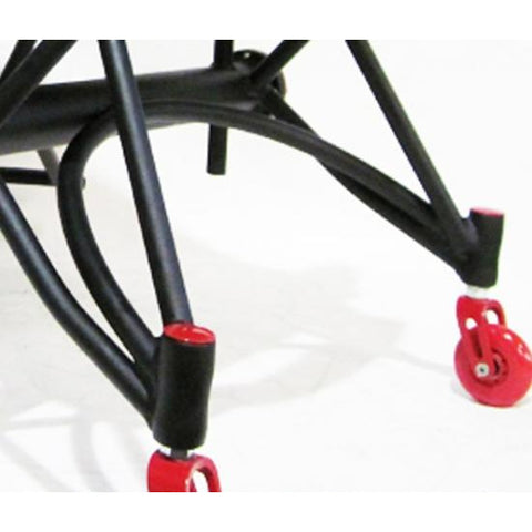 Colours: Zephyr Sport - Balck Frame wit Red Tyre
