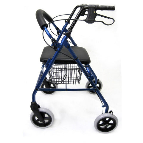 Karman Healthcare: Walker Rollator - R-4608 side view