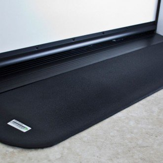 "SAFEPATH Products: EZ Edge Recycled Rubber Threshold Ramp (7/8"" Height)"